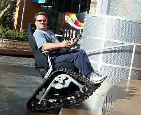 TC Mobility Tank Chair