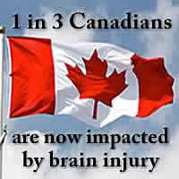 1 in 3 Canadians are now impacted by brain injury