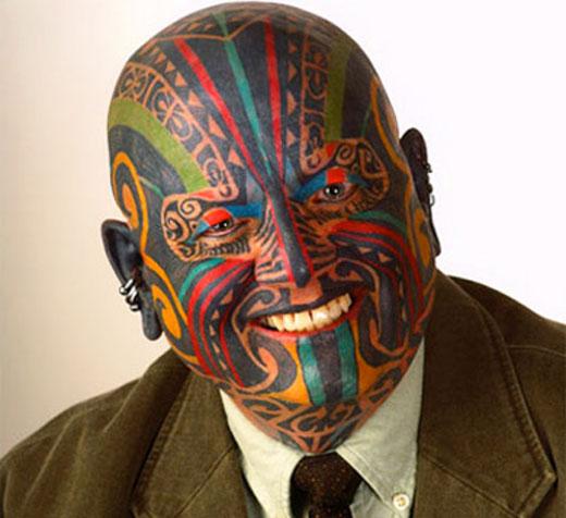 Human Doodle Art