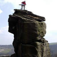 extreme ironing