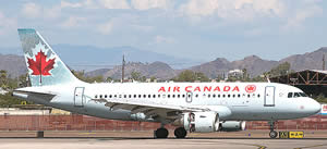 Air Canada Plane