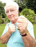 Grandpa Boxing