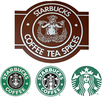 Starbucks Logos In History
