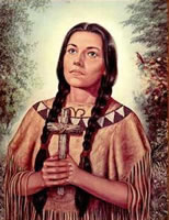 Kateri Tekakwitha - First Nation Catholic Saint