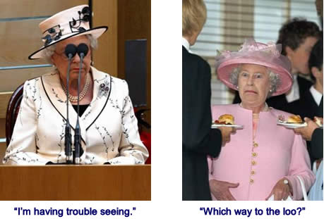 Funny Queen of England