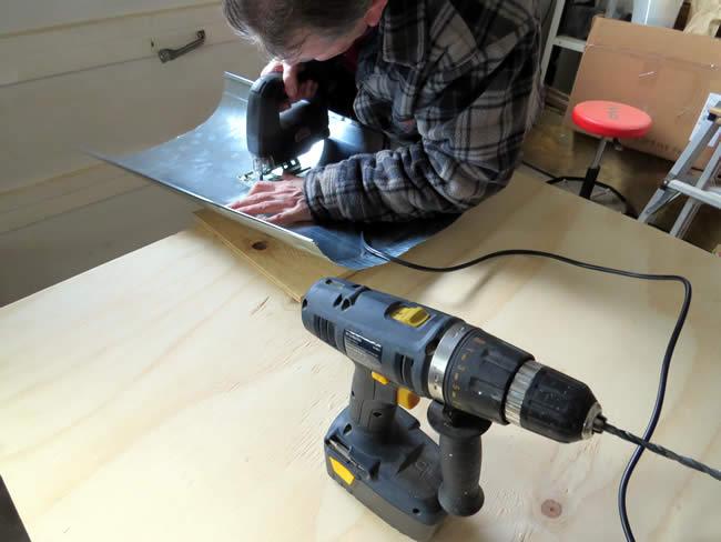 Assembling a light fixture
