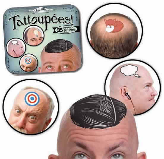 Tattoupées for bald men