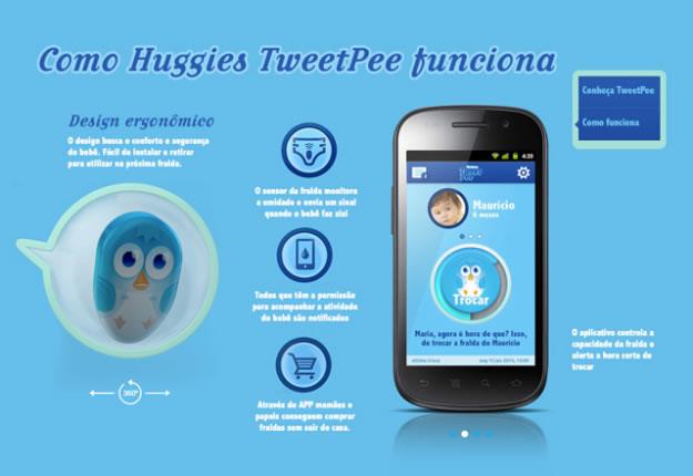 Huggies TweetPee App