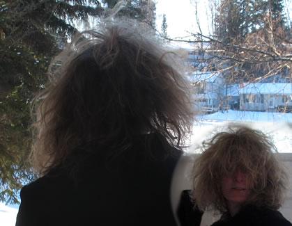 Crazy Wild hair