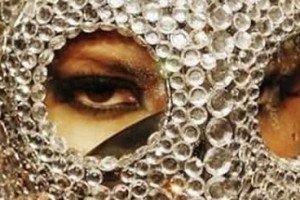 Crystal-coated Gas Mask Fashion Accessory Of The Future?