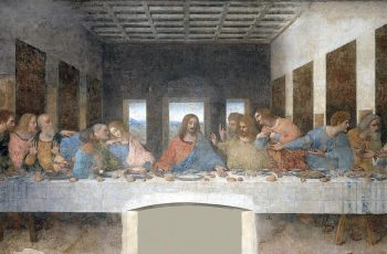 Last Supper Paining - True or False