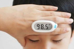 Lunar Baby Thermometer Is Non-Invasive And Easy To Use