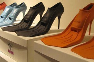 Global Flooding Spawns A Line Of High Heeled Flippers