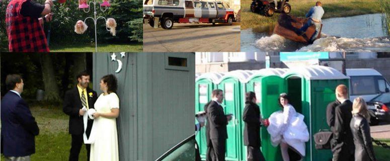 Redneck Wedding Photo Album