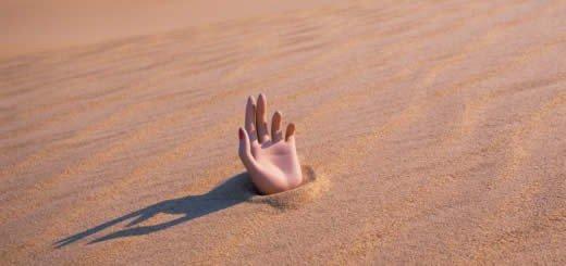 True or False - Quicksand