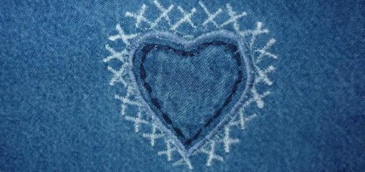 Heart Shaped Jeans