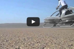 Flying Speeder Could Be From Star Wars Movies