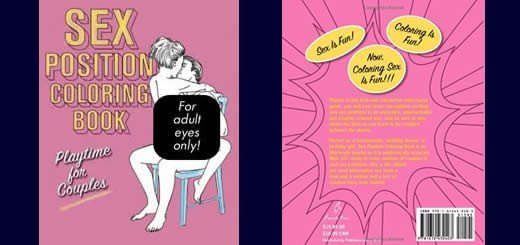 Sex Position Coloring Book Playtime For Couples
