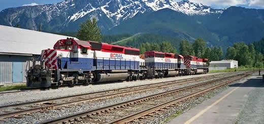 Trains - British Columbia