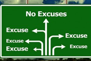 Enough Excuses   By Ron Murdock