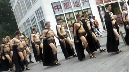Funny Dressed Men 11