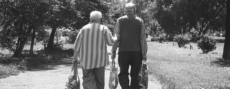 Elderly Walking Slow