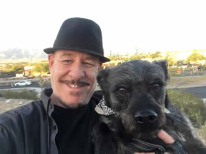 Michael Ely And His Dog Frappy