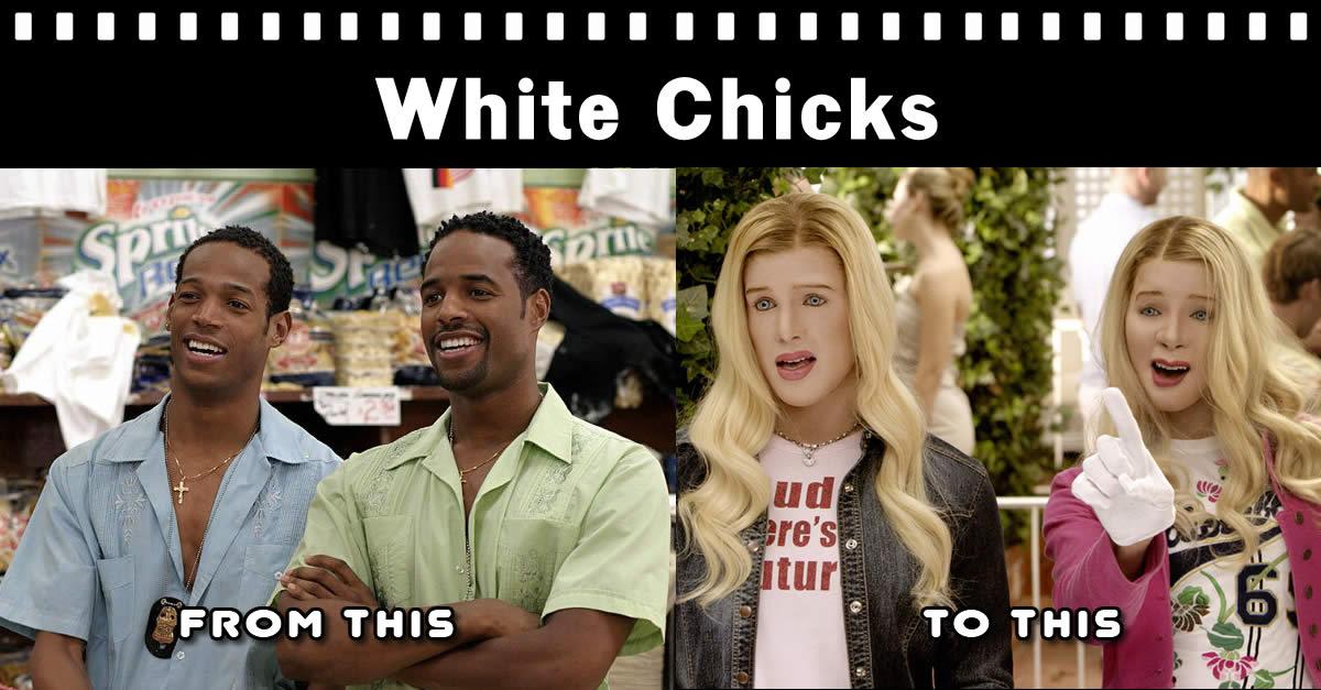 Blackface - White Chicks Movie Racist