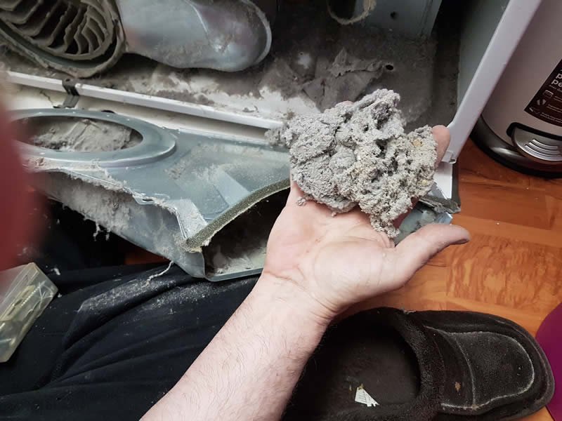 Cleaning Dryer Lint System 003