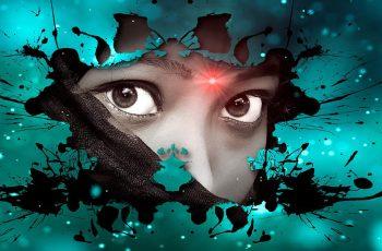 Spirituality Woman Eyes