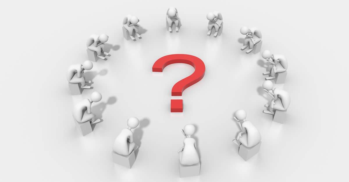 Critical Thinking Question Mark