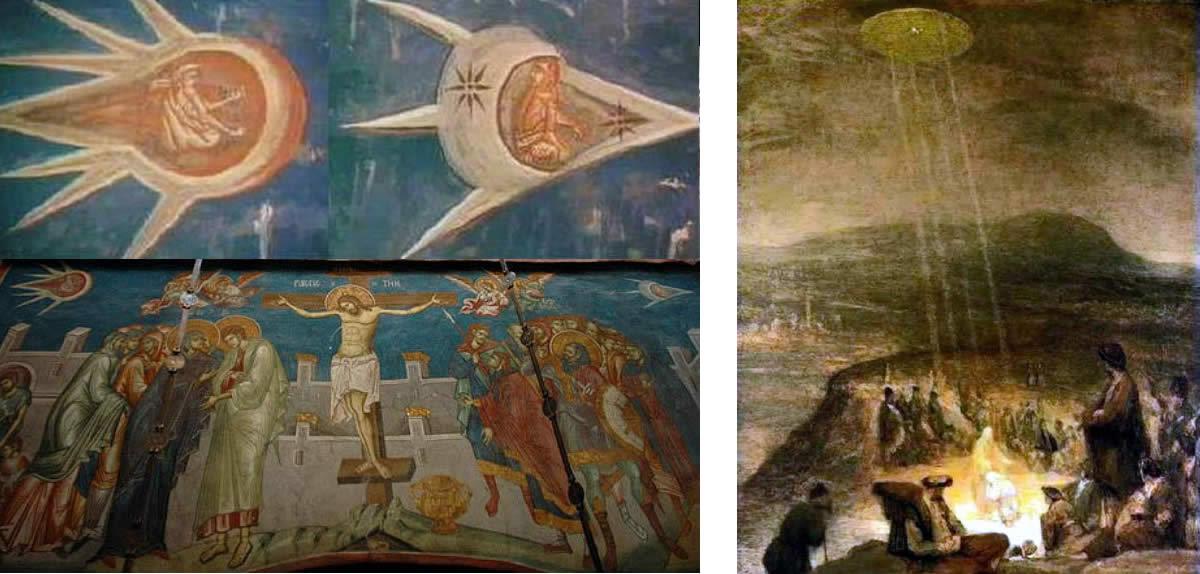 Alien UFO Art Work - Ancestry Of Man