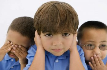 Children See Hear Speak No Evil - Funny Kids