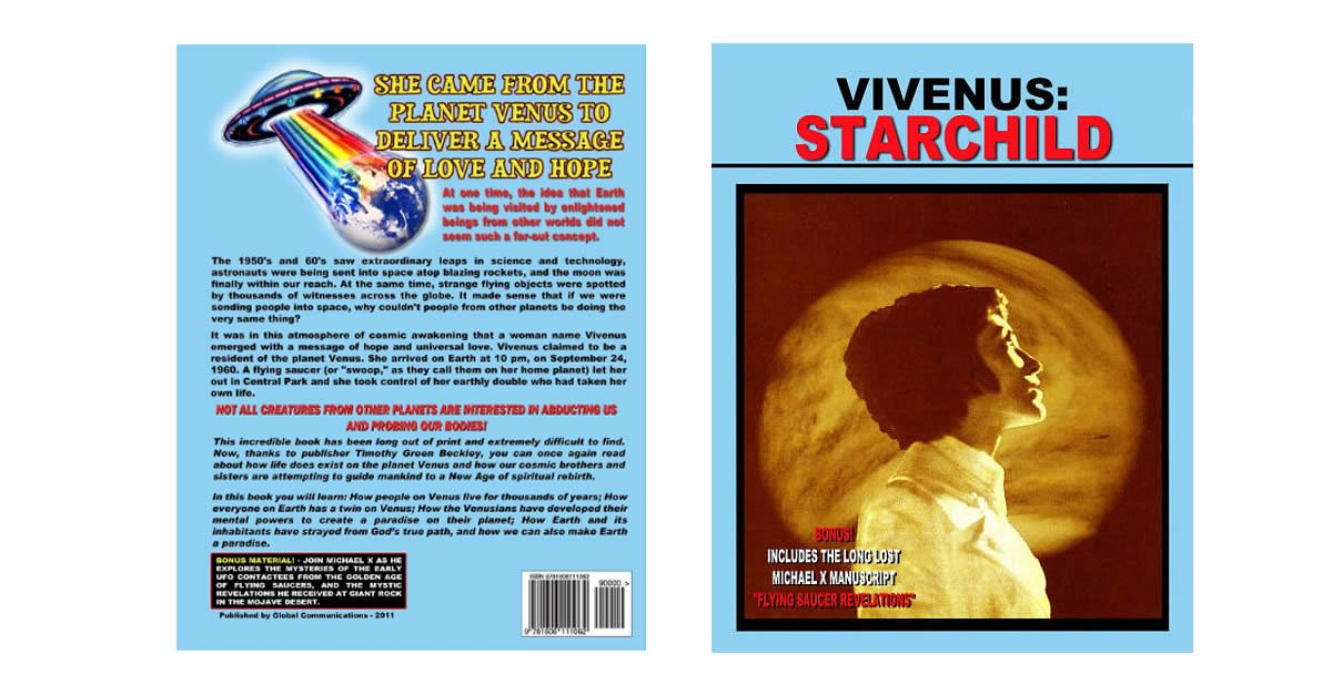 Vivenus Starchild - From Venus Or Invented A Story To Promote Herself