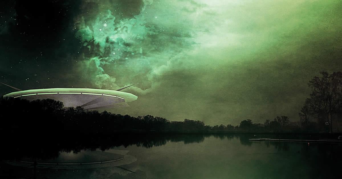 UFO Sighting Over Penticton British Columbia