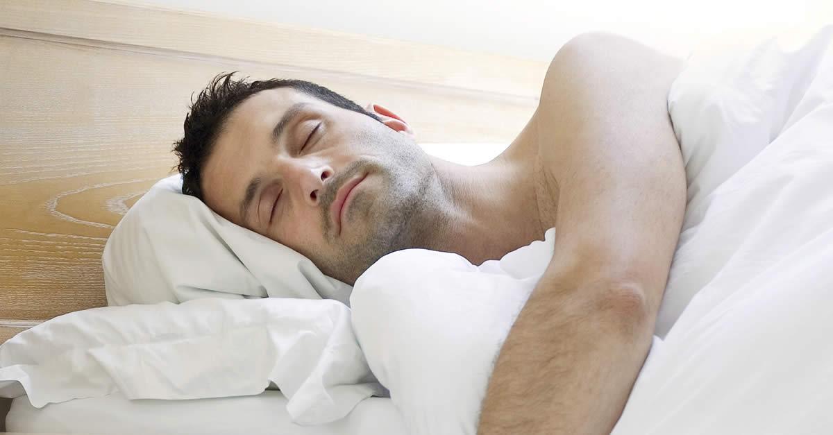 Improve In Bed - Man Sleeping