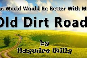 [VIDEO] The World Would Be Better With More Old Dirt Roads